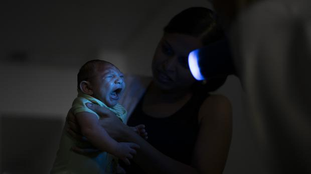The Zika virus has been linked to birth defects. (AP)