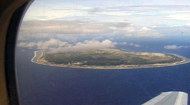 Australia pays Nauru to detain asylum seekers who attempt to reach Australian shores by boat (Channel 4/PA)