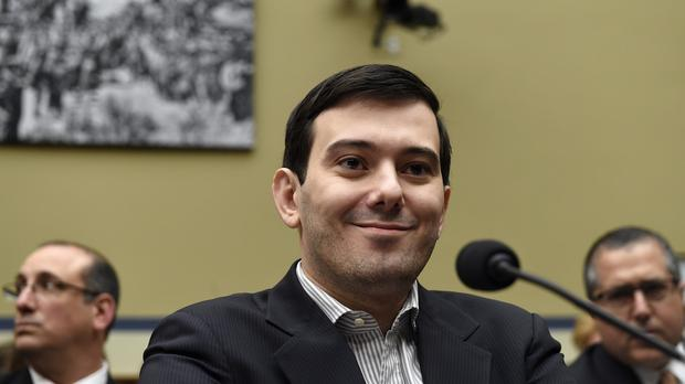 Martin Shkreli refused to answer questions during his Congress hearing. (AP)