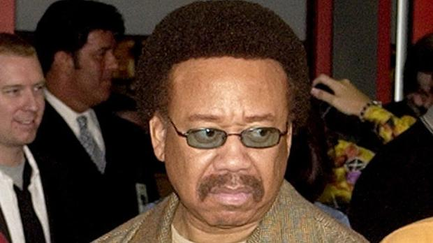 Maurice White pictured in 2003 - the founder of Earth, Wind, & Fire has died aged 74 (AP)