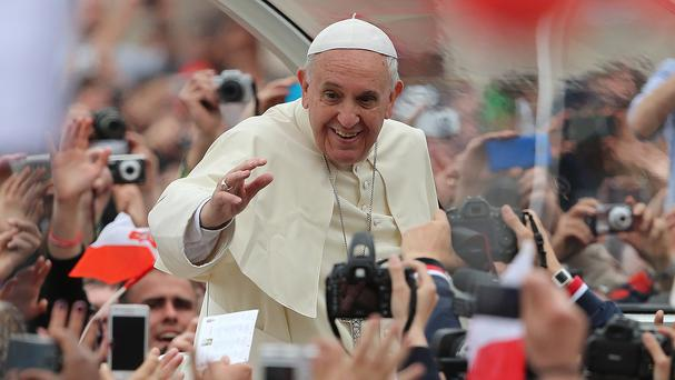 Pope Francis urged priests not to judge penitents