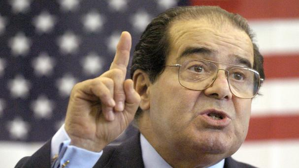 Controversial conservative US Supreme Court Justice Antonin Scalia has died at 79 (The Hattiesburg American/AP)
