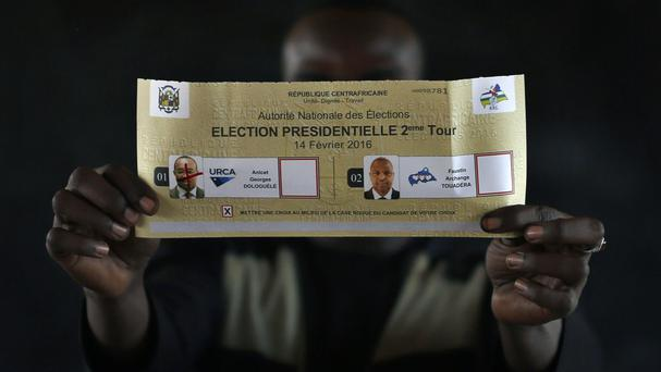 A winner has been declared in Central African Republic's presidential election (AP)