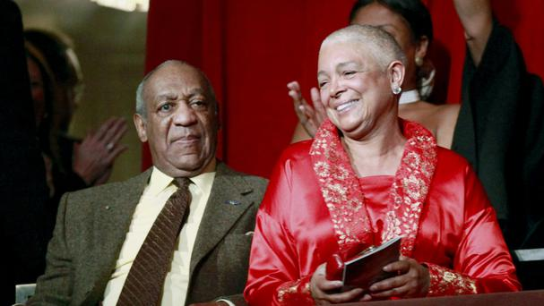 Bill and Camille Cosby pictured in 2009 (AP)