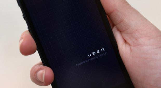Police said they have received complaints of harassment from Uber drivers