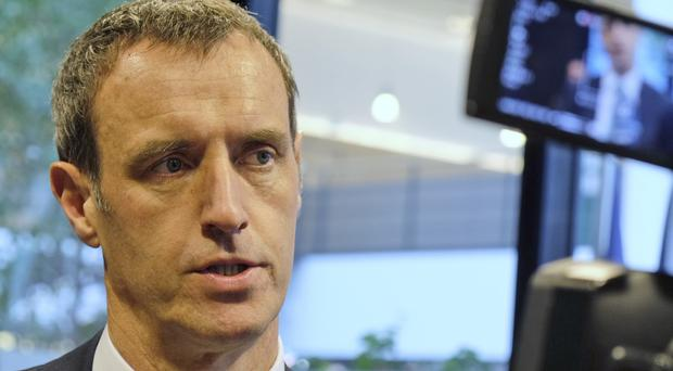 Europol director Rob Wainwright at The Hague, Netherlands (AP)
