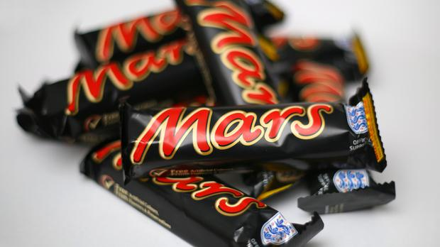A Mars press release says a piece of plastic was found in a product that could lead to choking