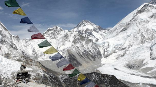 A plane has gone missing during a flight in the Nepal mountains