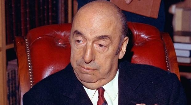 Nobel Prize-winning poet Pablo Neruda pictured in 1971 (AP)