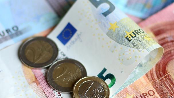 Eurostat said the annual rate of inflation in January was 0.3%, against its previous estimate of 0.4%