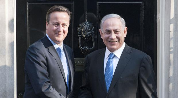 Prime Minister David Cameron was criticised by Benjamin Netanyahu