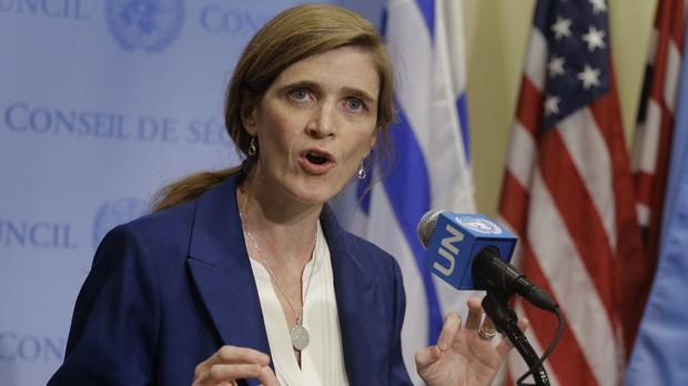 US ambassador to the United Nations Samantha Power says the latest sanctions plan against North Korea is a significant upgrade (AP)