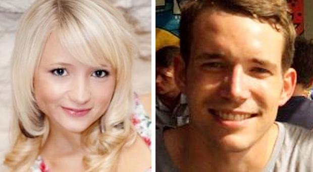 British tourists Hannah Witheridge and David Miller were murdered on the Thai island of Koh Tao in September 2014 (Foreign and Commonwealth Office/PA Wire)