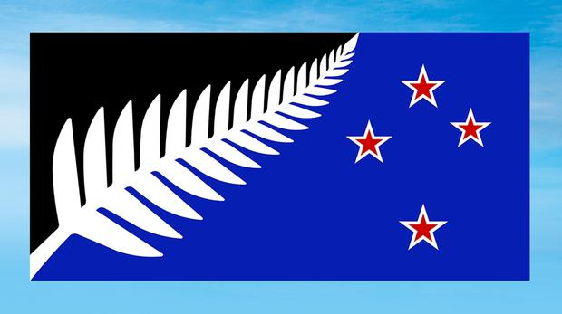 The new flag that could replace New Zealand's current one (New Zealand Government/PA)