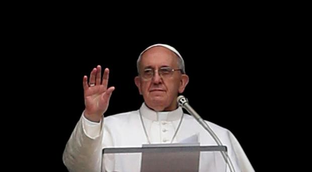 Pope Francis expressed his dismay at the attacks