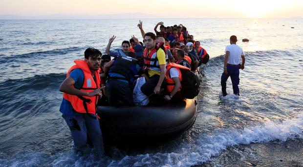 Migrants and refugees have been arriving in Greece in large numbers