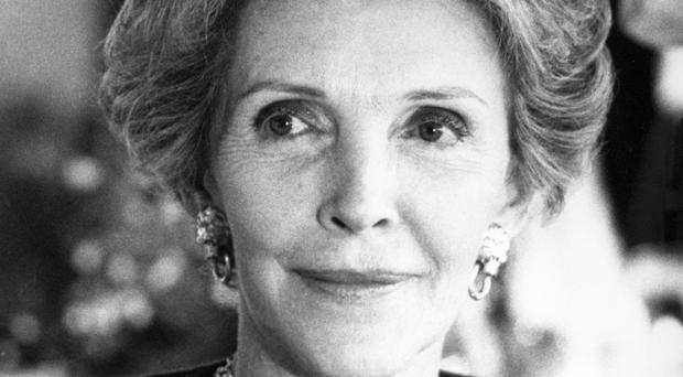 Former US first lady Nancy Reagan, who has died in Los Angeles aged 94