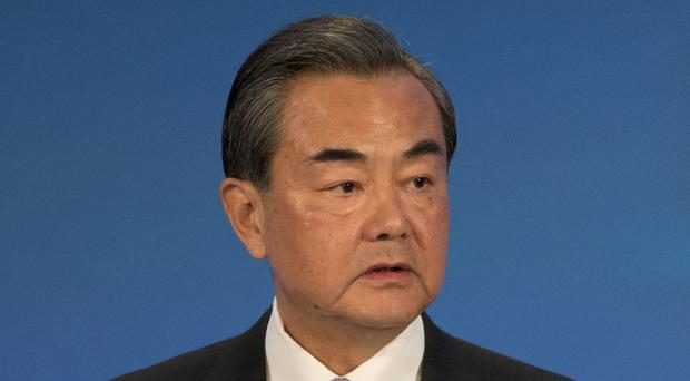 Foreign minister Wang Yi took a hard line over Beijing's claims in the South China Sea