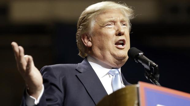 Republican presidential candidate Donald Trump says some Muslims have an 'unbelievable hatred' of the West (AP)