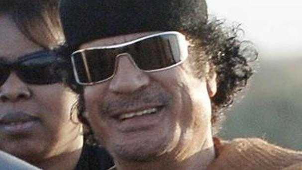 Libya has been in turmoil since the overthrow of Muammar Gaddafi, pictured, in 2011