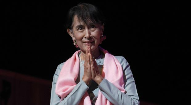 Aung San Suu Kyi is barred from becoming Burma's president