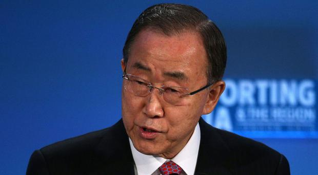 The UN Security Council backed the plan by secretary general Ban Ki-moon, pictured, to send home military or police units where there is credible evidence of abuse