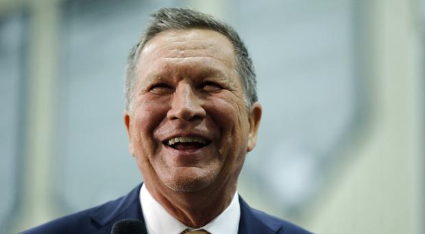 John Kasich has pulled even with Donald Trump in some Ohio polls (AP)