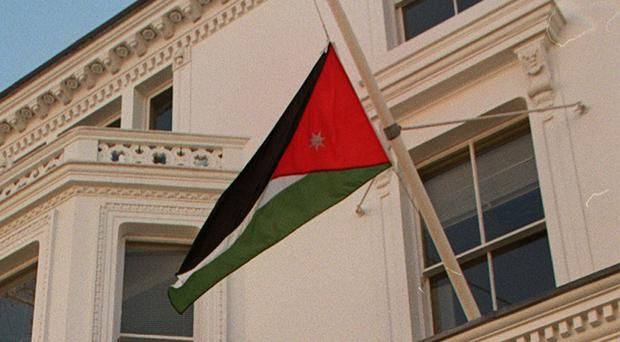 Several critically injured people were flown to a hospital in the Jordanian capital of Amman