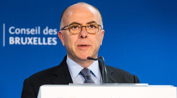 Interior minister Bernard Cazeneuve said the man was plotting a terror attack (AP)