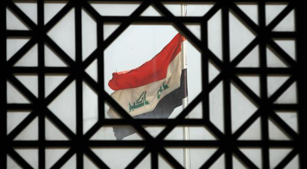 The blast occurred during a match at a small stadium in the Iraqi city of Iskanderiyah