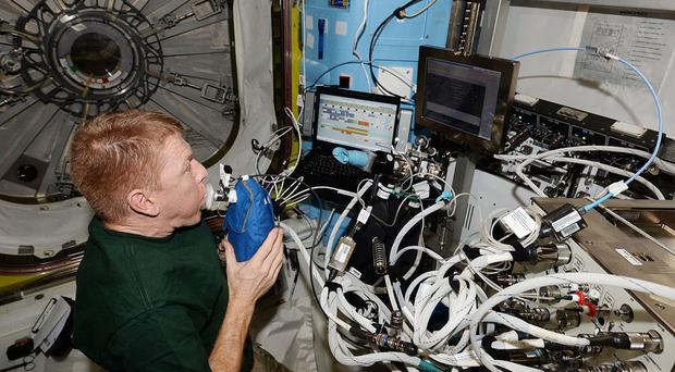 Tim Peake and his fellow astronauts have received another delivery
