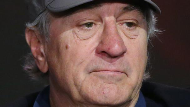Robert De Niro initially defended the inclusion of Vaxxed in the festival (AP)