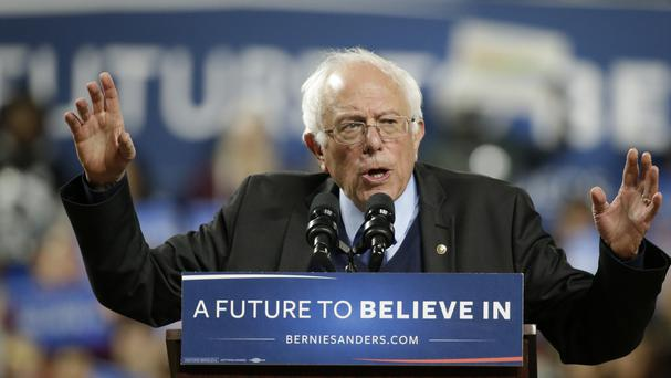 Bernie Sanders scored caucus wins in Alaska and Washington state (AP)