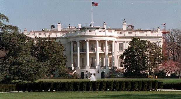 The White House was also put on lockdown