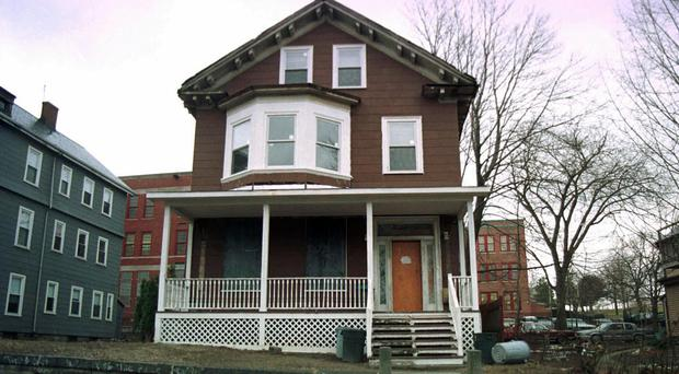 The house where Malcolm X spent part of his childhood (AP)