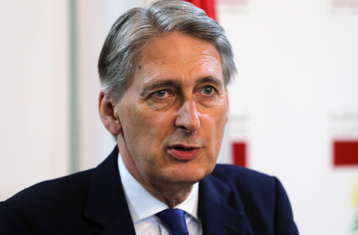 Foreign Secretary Philip Hammond (AP)