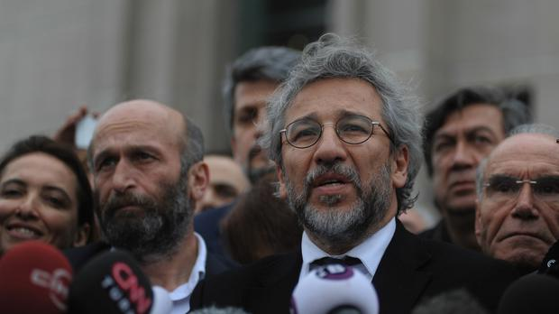 Erdem Gul and Can Dundar face espionage charges in Istanbul (AP)