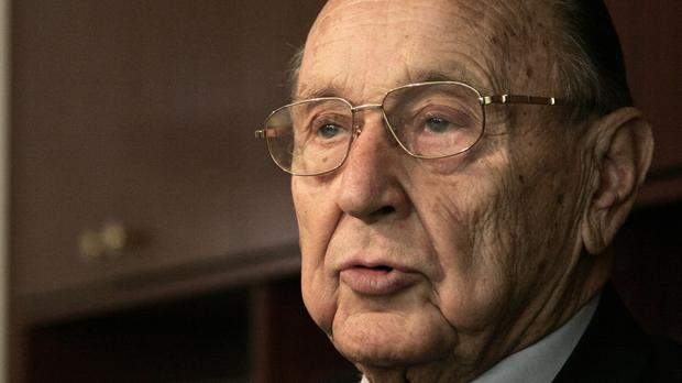 Hans-Dietrich Genscher was one of the key architects of German reunification (AP)