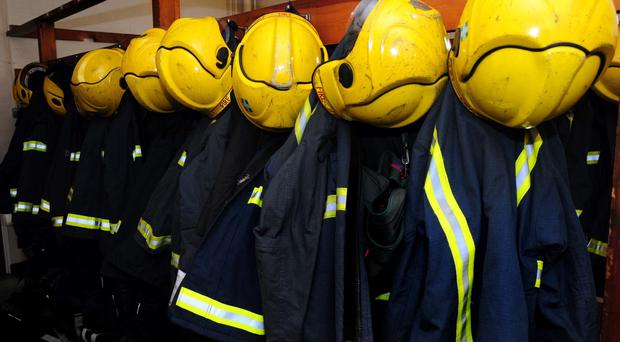Firefighters are said to be tackling the blaze