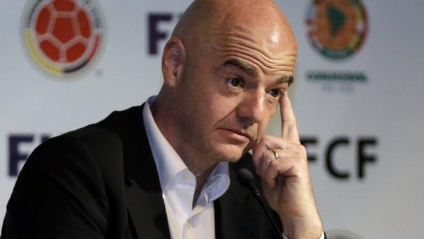Fifa president Gianni Infantino has defended his reputation (AP)