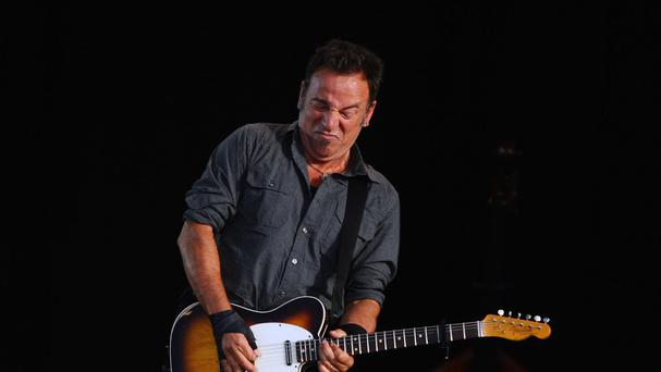 Bruce Springsteen said the move was a show of solidarity with 'freedom fighters'