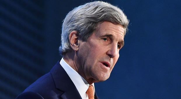 John Kerry's schedule includes meetings with Afghanistan's rival leaders Ashraf Ghani and Abdullah Abdullah