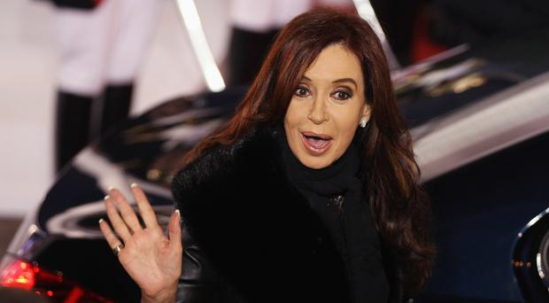 Cristina Fernandez de Kirchner left office in December