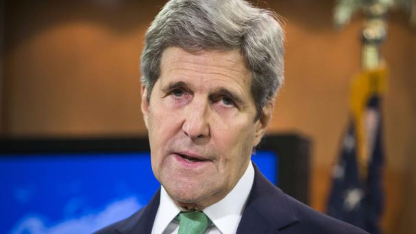Mr Kerry is not expected to issue an apology over Hiroshima (AP)