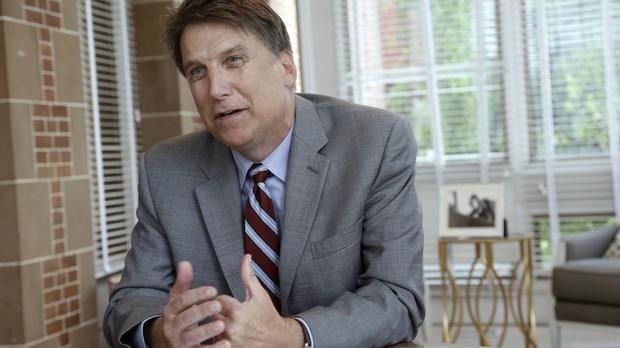 North Carolina Governor Pat McCrory has moved over controversial law