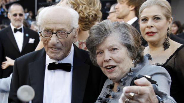 Eli Wallach, left, and Anne Jackson (AP)