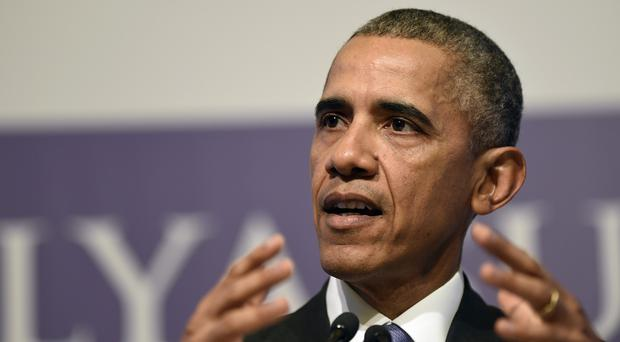 President Obama is expected to continue to discuss the controversial Transatlantic Trade Investment Partnership with David Cameron (AP)