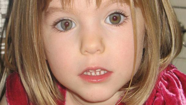 Madeleine McCann went missing in 2007 (Family handout/PA)