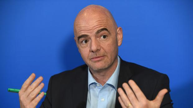 Gianni Infantino says Fifa officials take