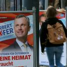 Election posters of Norbert Hofer (AP)